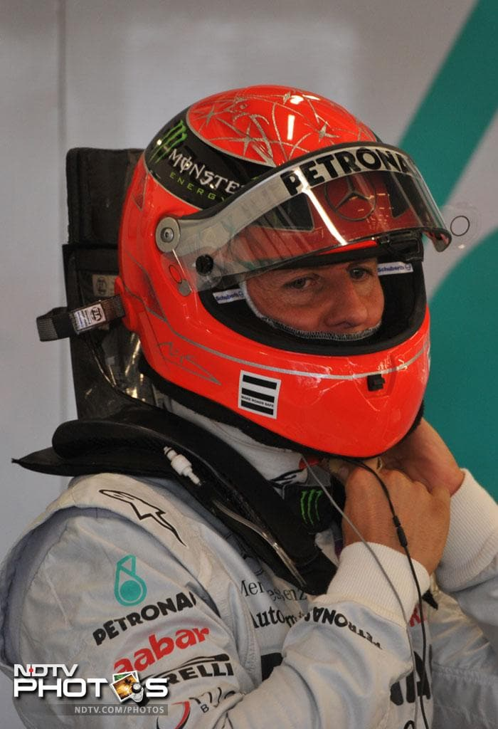 Legendary Michael Schumacher's comeback has not been a great one. The veteran would need a heroic display to improve from his 13th position.