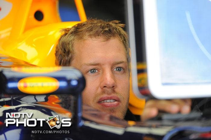 Sebastian Vettel, who leads the Championship points table by a whopping 77 points will start behind his Red Bull teammate.