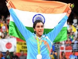 Photo : Rio 2016: PV Sindhu Fights Bravely, Wins Silver in Badminton Final vs Carolina Marin