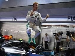 Photo : Formula One: Nico Rosberg Crowned The New King Of Singapore