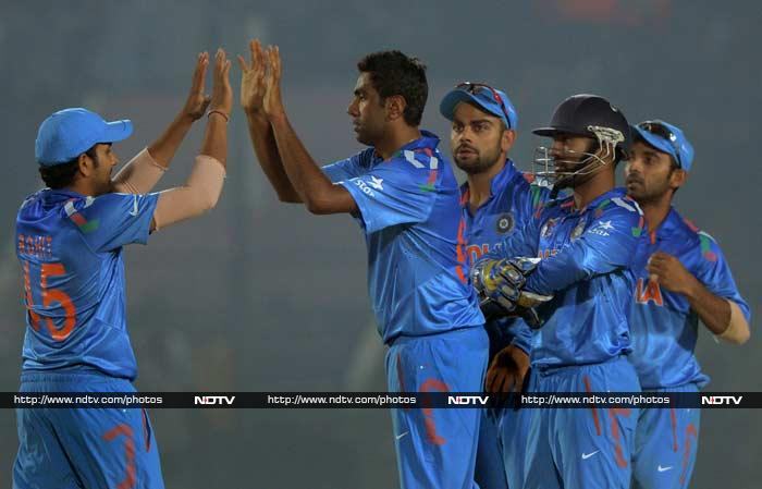 Ashwin also completed 100 ODI wickets in the process.