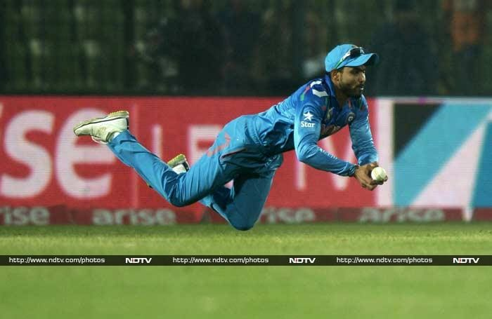 While Ashwin did get his side into the match, Indian fielding was extremely shoddy with several catches being grassed.