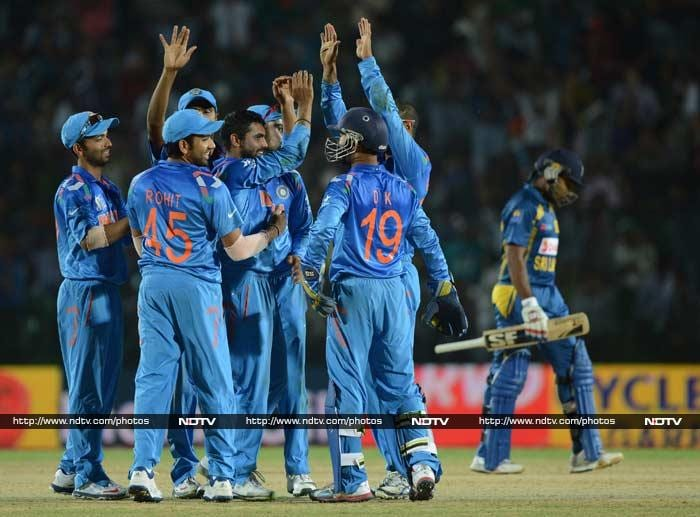 The spinner weaved a spell of magical spin and finished with figures of 3/30. <br><br>Mohammad Shami too struck soon after, claiming two wickets.