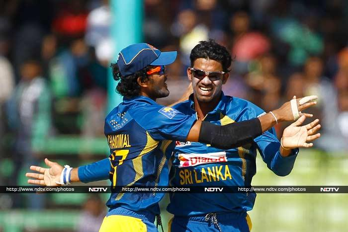 Sachitra Senanayake also claimed three wickets and will now surely be part of Sri Lanka's permanent strategy to use spinners to the maxium, going forward in the tournament.