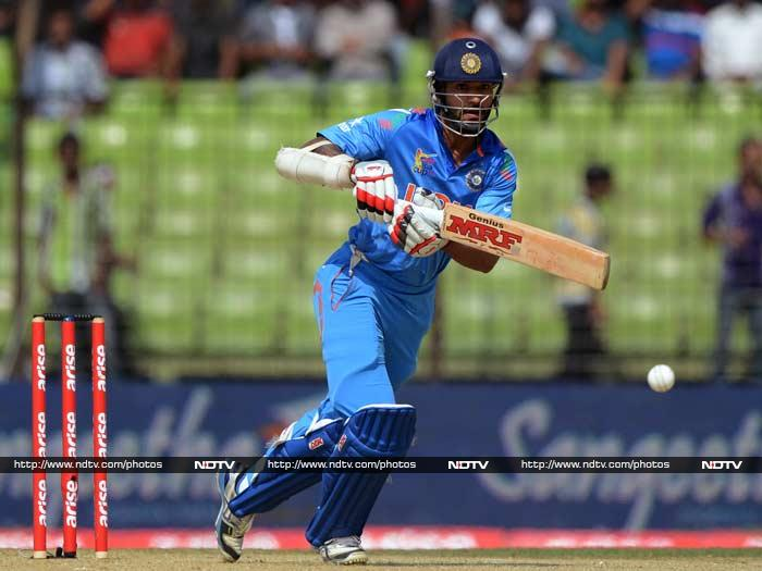 Earlier in the day, Shikhar Dhawan hit 94 after his team was asked to bat.