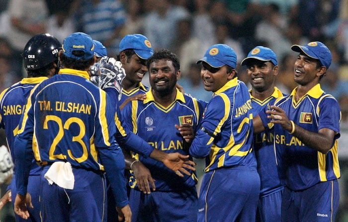 Sri Lanka overtook Australia and moved to the top of group A after convincingly defeating New Zealand by 112 runs in Mumbai. (Getty Images)