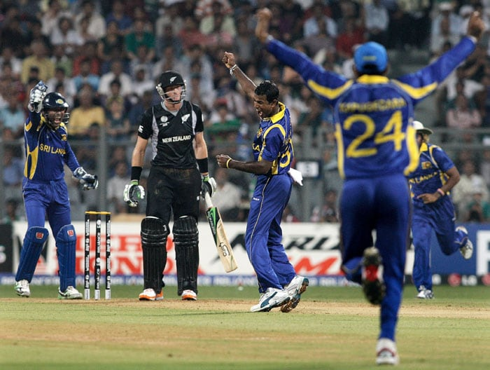 The New Zealand innings began in a similar fashion to Sri Lanka's as both their openers departed early. (Getty Images)
