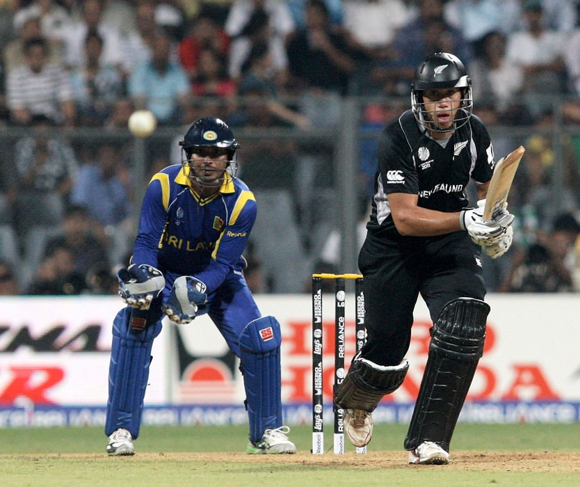 New Zealand lost wickets at regular intervals and the only time they looked good to challenge Sri Lanka, was when Taylor was at the crease. However, Taylor fell for 33. (Getty Images)