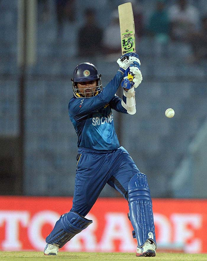 In reply, Sri Lanka did lose a wicket but managed to reach the total in exactly 5 overs.