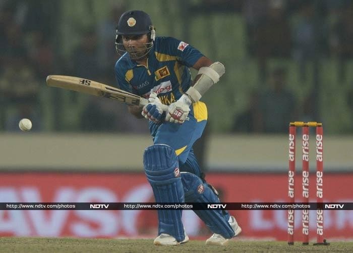 Mahela Jayawardene walked in and change the course of the game. He ensured that Thirimanne received the support he deserved and anchored himself at one end.