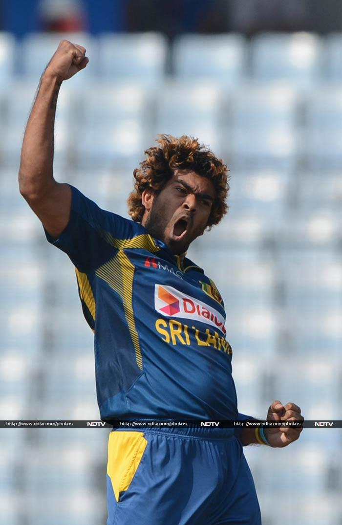 Lasith Malinga's bowling spell early on was crucial after Pakistan won the toss and chose to bat. <br><br>The menacing pacer claimed two in his first two overs to leave the opposition reeling.