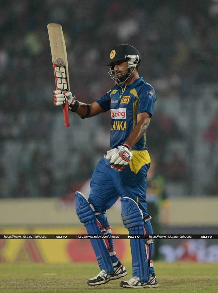 Thirimanne at the other end, eventually scored his 3rd ton - second of the tournament - to put Lankans on the verge of a win. Although he fell on 101, it was too late in the day for a comeback. <br><br>Sri Lanka now have won Asia Cup the most number of times, with India - five.