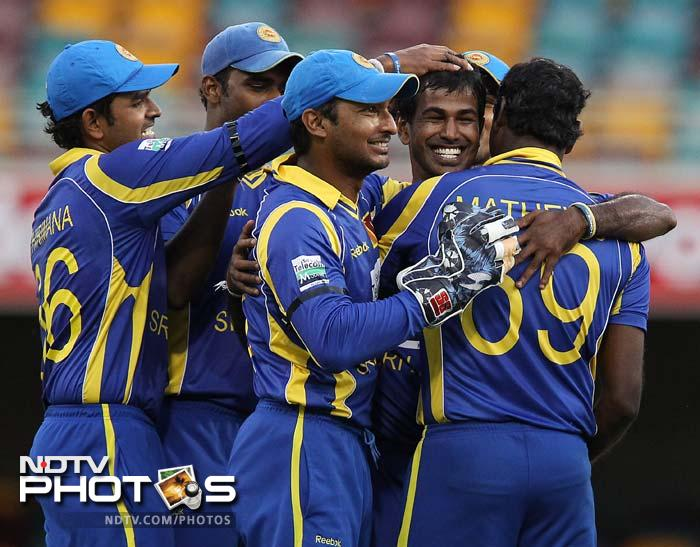 Sri Lanka bowled out India for 238 to post a 51-run win and move ahead of India in the CB series points table, which is lead by Australia. (All AFP and AP Images)