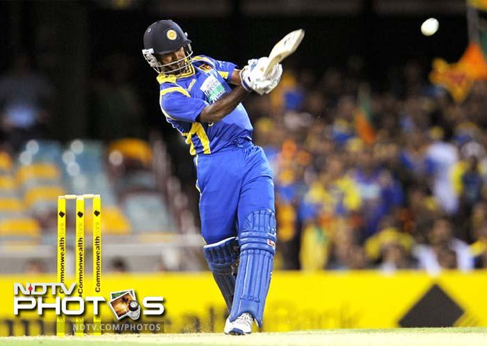 Kulasekara spread the pain when he smacked 73 off 43 to script a sensational comeback for Sri Lanka. He was partnered by Upul Tharanga who hit 60 off 67.