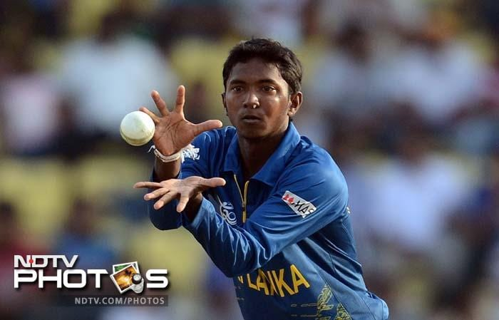 Sri Lanka's Akila Dananjaya made his debut and was good in his efforts which gave him two key wickets.