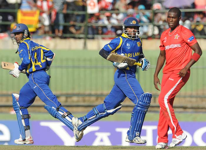 Sri Lanka defeated Zimbabwe by 139 runs to pick two clear points in their Pool A match on Thursday.