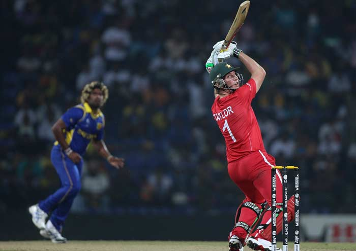 Zimbabwe had a good start in reply with openers Brendan Taylor and Regis Chakabva batting well.