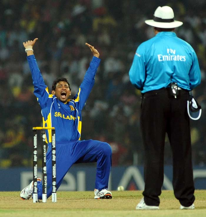 But once the openers departed, Dilshan was introduced and he ravaged the rest of the batting picking 4 wickets.