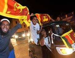 How Sri Lanka celebrated their ICC World Twenty20 win