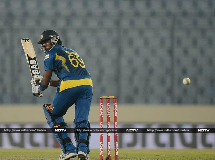 From 75/5, Angelo Mathews orchestrated Sri Lanka's comeback in their chase of 204 vs Bangladesh.