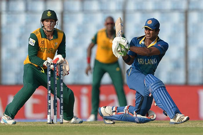 The left-handed Kusal Perera, who has been labelled as the 'new Jayasuriya' took the attack to the opposition.