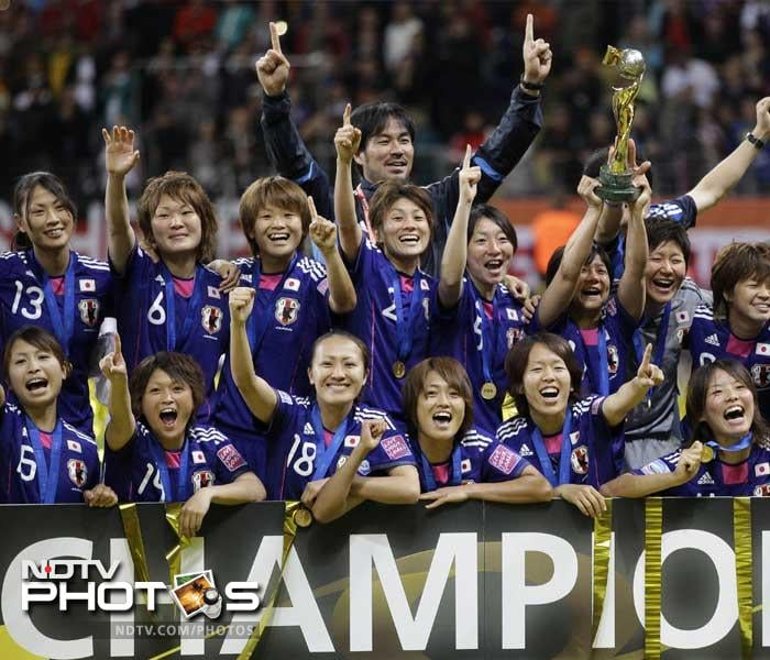 Japan defeated the United States in penalties on Sunday to lift the Women's World Cup. After months of battling with one disaster to another, the wave of joy that this had brought to the island is remarkable and completely deserving. (AP images)