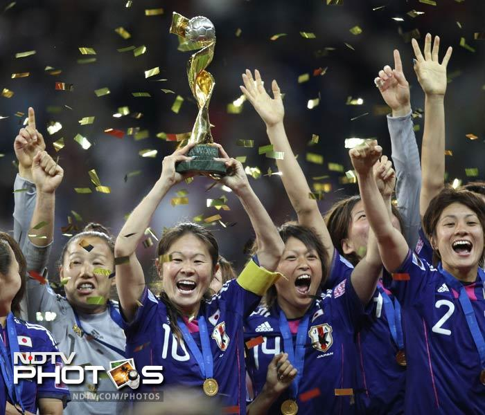 It was a close match and bookies favoured United States to win. It was not meant to be as the resilient Japanese women nudged past their opponents in the penalty kicks to crown themselves champions.
