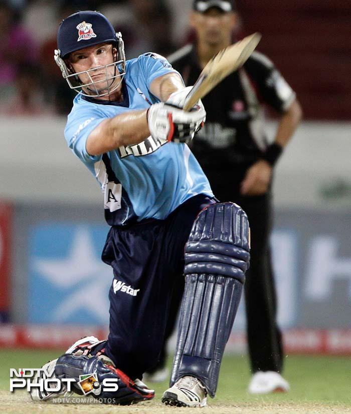 Auckland skipper Gareth Hopkins was the only other batsman to get some runs, scoring 22 off 22. (AP Photo)