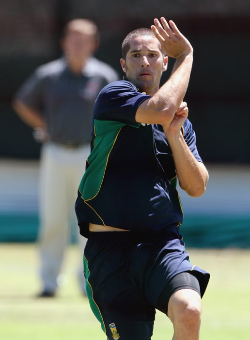 <b>WAYNE PARNELL</b><br><br> <b>Age: </b>21.<br><b>Role: </b>Left-hand batsman, left-arm medium-fast<br> <b>Stats: </b>ODIs 18, Runs 116, Highest 49, Average 23.20, Strike-Rate 71.16, Catches 2, Wickets 31, Best bowling 5-48, Average 30.35, Economy-Rate 6.09<br><br> The youngest player to be awarded a contract by Cricket South Africa, at the age of 19, Parnell established himself as one of the most talented young bowlers in the world, with a high wicket strike rate in both ODIs and Twenty20 internationals. He suffered a groin injury in May 2010 and was still not at his best in the recent series against India.(Photo: Getty Images)