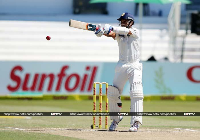 It was Ajinkya Rahane who waged a lone battle at the other end.<br><br> The batsman played with a positive intent and despite losing several partners, managed to make the Indian scorecard tick.