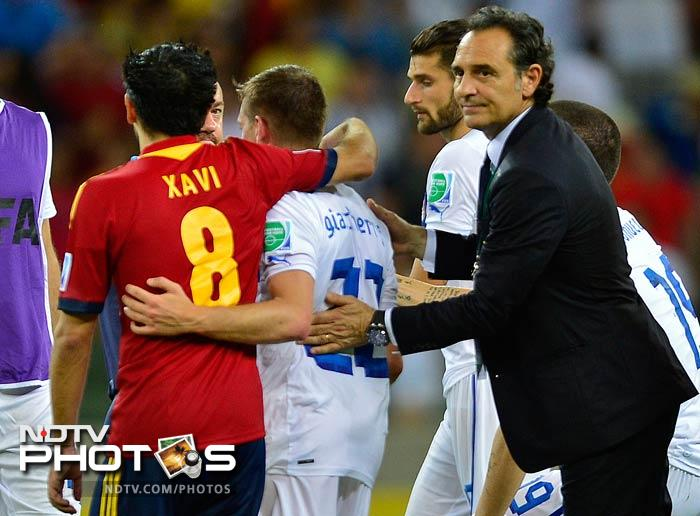 Italy were left to curse their luck after initially shackling Spain in the first half, and coach Cesare Prandelli must now galvanise minds and bodies for Sunday's meeting with Uruguay in the third-place play-off.