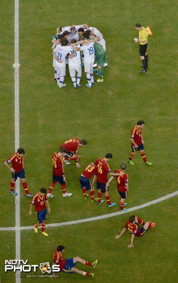 The match then went into 'dreaded' penalties as Spain and Italy lined-up for a showdown.