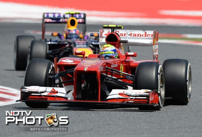 Two-time champion and local hero qualified 5th in his Ferrari, one place ahead of teammate Felipe Massa.