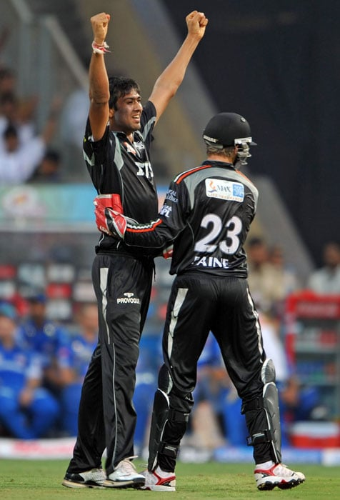 Rahul Sharma: The list has an unlikely leader in the Pune Warriors spinner. An unknown before the start of IPL 4, he has been quite effective for the Sahara owned team and has given runs at a miserly rate of 5.61. Sharma's prized moment although has been outwitting Sachin Tendulkar not once but twice in the tournament - including once while playing for his previous team Deccan Chargers.