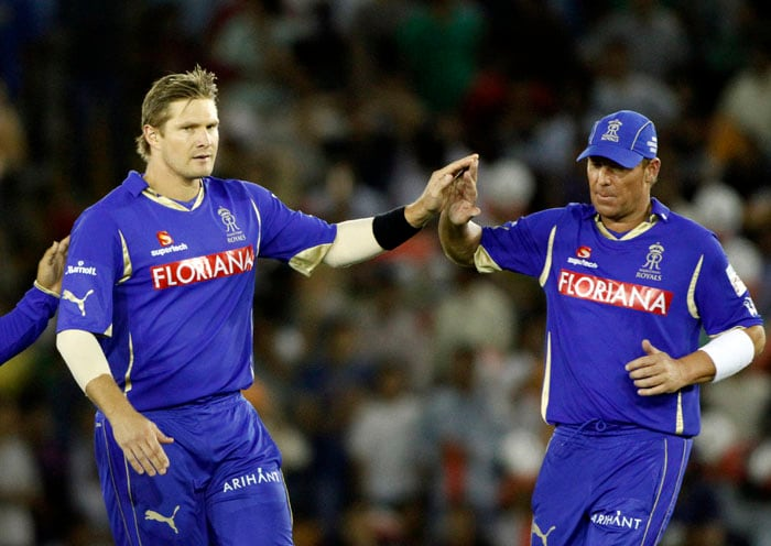 Shane Watson: Arguably the most in-demand all-rounder - he brutally thrashes the opposition bowlers - but has managed to escape the same treatment from other batsmen. The Rajasthan Royals' key player has an economy of just over 6, an achievement in the Twenty20 format. (AP Photo)