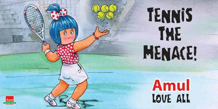 This ad was inspired by the crisis that cropped up after both Mahesh Bhupathi and Rohan Bopanna refused to partner Leander Paes in the men's doubles team for the London Olympics.<br><br>Reminding us of a certain 'Dennis', this ad reads 'Tennis the Menace', and ends with the punchline 'Love All'.