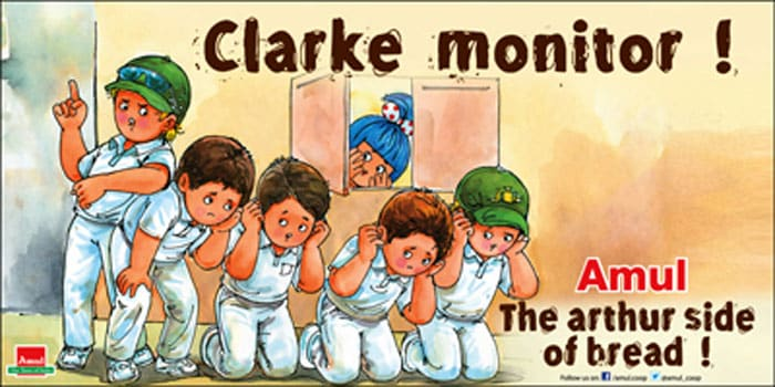 Shane Watson, Usman Khawaja, Mitchell Johnson and James Pattinson were suspended by team management after breaking team protocol. <br> Amul finds fun where none exists.