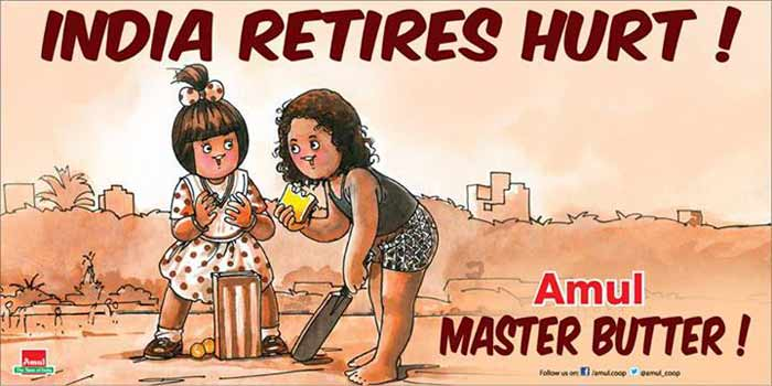 One can never keep Amul away from contemporary issues. This time, they join the nation in saying a warm goodbye to Sachin Tendulkar, the legendary cricketer.