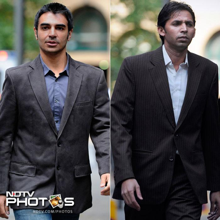 <b>October 4, 2011:</b> Salman Butt and Mohammad Asif arrive at Southwark Crown Court in London to begin their trial more than a year after the spot-fixing allegations that engulfed the cricket world during Pakistan's troubled tour of England.<br><br>The spot-fixing trial begins after an appropriate jury was sworn in. Both players were asked if they had any objection to the jury formed and they said: 'No objections'.