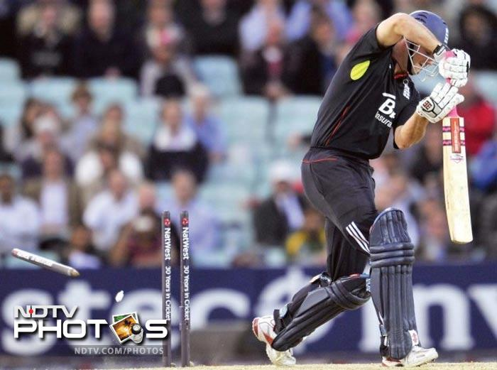 """<b>September 19, 2010: </b> Ijaz Butt points a finger at England's cricketers for their batting collapse in the ODI under investigation, and said his board was investigating a conspiracy involving """"august cricket bodies"""", to defraud Pakistan and Pakistan cricket."""