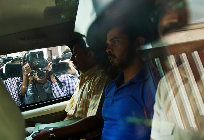Sreesanth however released a statement through his lawayer, saying he is absolutely innocent. (AFP image)