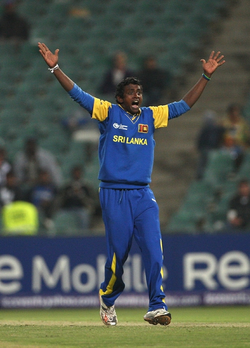 <b>AJANTHA MENDIS</b><br><br> <b>Age: </b>25.<br><b>Role: </b>Right-hand batsman, spinner<br> <b>Stats: </b>ODIs 46, Runs 99, Highest 15 not out, Average 7.61, Strike-Rate 68.75, Catches 6, Wickets 82, Best bowling 6-13, Average 19.59, Economy-Rate 4.40<br><br> The mystery spinner who turns the ball both ways with a unique action in which he flicks the ball out of his hands like a carrom player. But batsmen appear to pick him better now, making him less effective than before.(Photo: Getty Images)