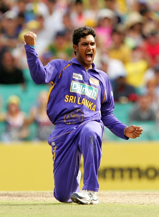 <b>CHAMARA KAPUGEDERA</b><br><br> <b>Age: </b>23.<br><b>Role: </b>Right-hand batsman, Right-arm medium<br> <b>Stats: </b>ODIs 85, Runs 1,440, Highest 95, Average 22.85, Strike-Rate 73.09, Centuries 0, Fifties 7, Catches 28, Wickets 2, Best bowling 1-24, Average 109, Economy-Rate 5.06<br><br> Another aggressive batsman, he makes useful contributions lower down the order, especially in the slog overs. An accurate medium-pacer who keeps runs in check.(Photo: Getty Images)