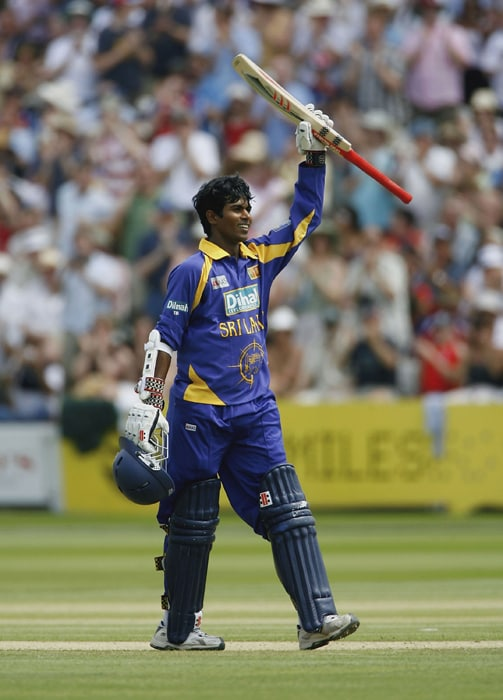 <b>UPUL THARANGA</b><br><br> <b>Age: </b>26.<br><b>Role: </b>Left-hand batsman<br> <b>Stats: </b>ODIs 112, Runs 3,503, Highest 120, Average 34.34, Strike-Rate 72.88, Centuries 9, Fifites 18, Catches 19.<br><br> The Tsunami survivor is another exciting opening batsman in the Dilshan mould but is more selective in his stroke-play. The left-hander is at ease in all three formats of the game, but is ideally suited to build an innings in the one-day format.(Photo: Getty Images)