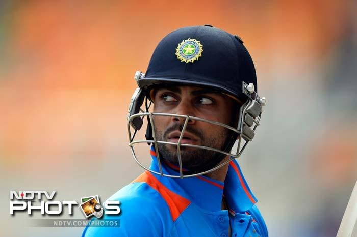 Virat Kohli's day as skipper of India for the first time was one that he will like to forget in a rush.<br><br>Sri Lanka inflicted a massive 161-run defeat on MS Dhoni-less India after being asked to bat first.<br><br>All images courtesy AFP.