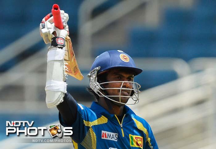 It hardly stopped the Sri Lankan carnage as Tharanga completed his century and went onto remain unbeaten on 174. He helped his side posted a mammoth 348/1 in the full quota of overs.
