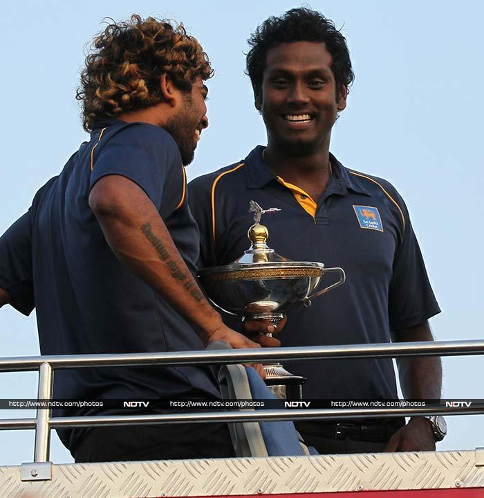 This was Sri Lanka's first major international trophy since they won a triangular home series involving India and New Zealand in August 2010.