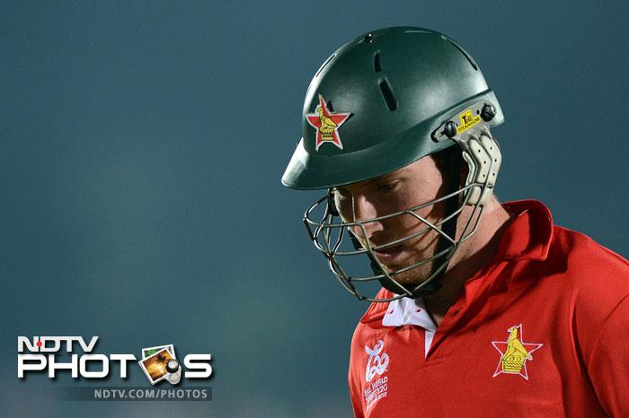 Zimbabwe started off pretty well in their innings and were 37/0 at one stage before two wickets fell in quick succession, one of the much anticipated Brendan Taylor. With that wicket, almost all hopes of the African side fizzled out.