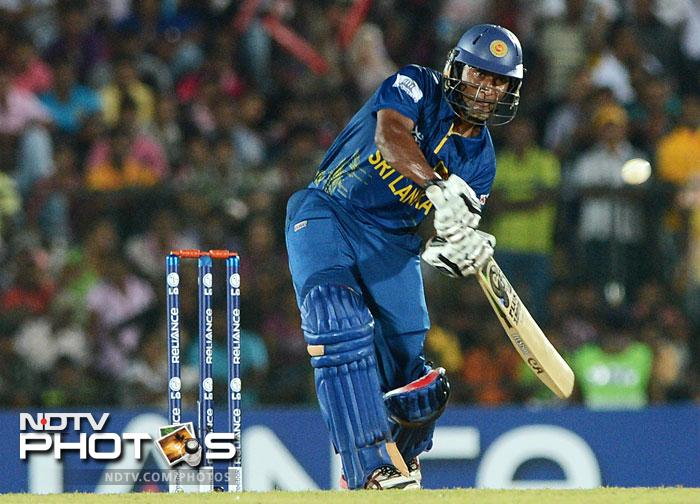 """It was Jeevan Mendis who instilled some <i>""""jeevan""""</i> (life) into the Sri Lankan batting after a mid-inning crisis saw three quick wickets go down in a matter of 28 runs. He scored 43* off 30 balls to guide the home team to a formidable 182."""
