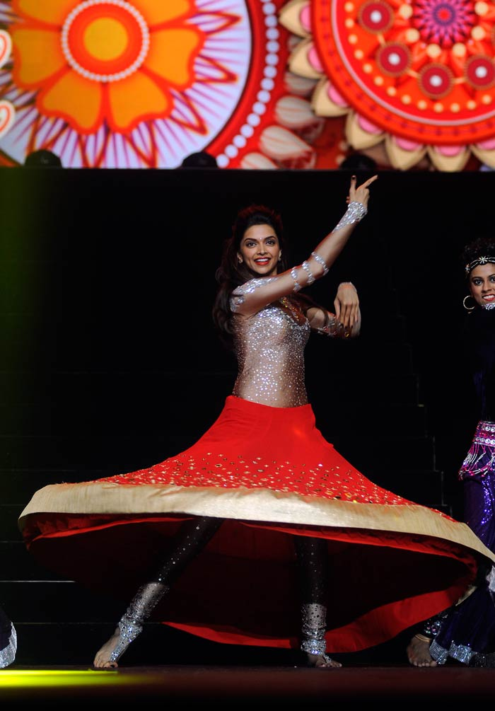 Her dance numbers were enthusiastically cheered by the audience. (Image courtesy BCCI)